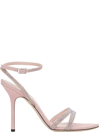 Pollini Sandals With Rhinestones