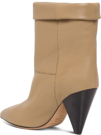 Isabel Marant Luido Leather Ankle Boots