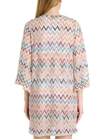 Missoni Short Tunic Dress With Zigzag Motif
