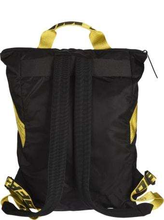 Off-White Nylon Handle Backpack