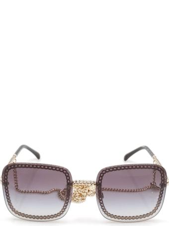 Chanel Chanel Ch4244 Pale Gold Sunglasses
