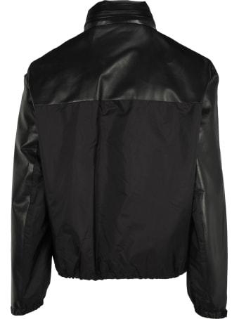 Prada Leather And Nylon Jacket