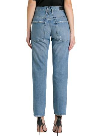 RTA Dexter Belted Jeans