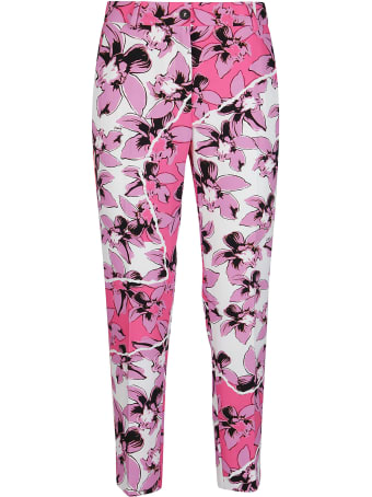Iceberg Flower Print Trousers