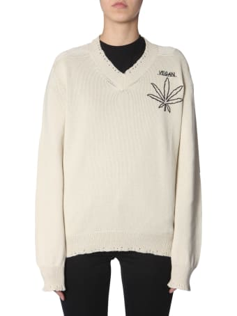 Riccardo Comi Vegan  Embroidered Jersey