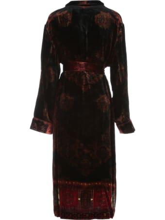 Pierre-Louis Mascia Long Printed Kimono