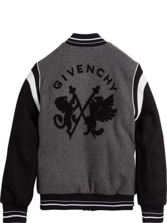 Givenchy Color Block Wool Sweatshirt