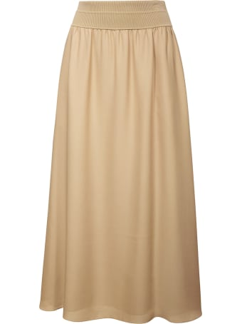Theory Long Fitted Waist Skirt