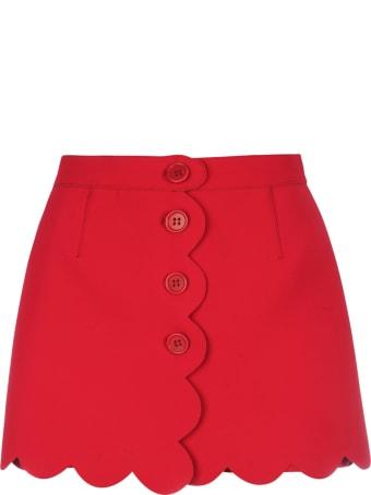 RED Valentino Bicolor Tech Short