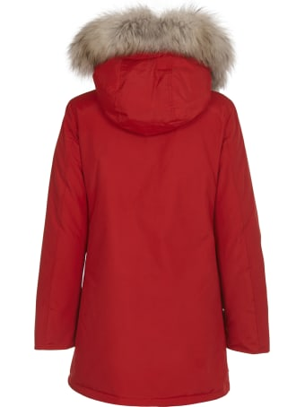 Woolrich Red Arctic Parka Df