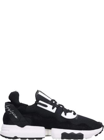 Y-3 Zx Torsion Sneakers In Black Tech/synthetic