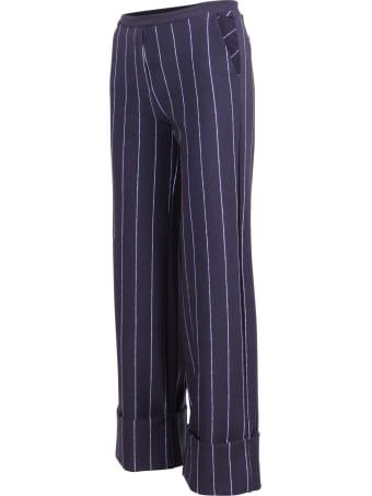 La Petit Robe Di Chiara Boni La Petit Robe By Chiara Boni 'fred Print' Polyamide Trousers