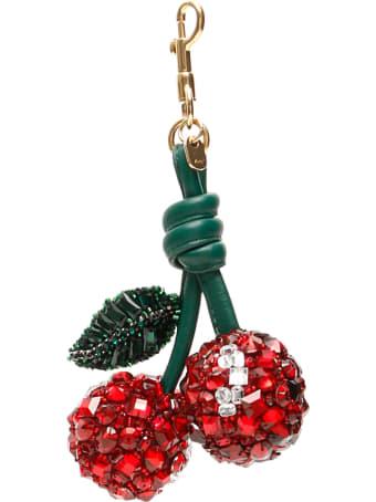 Anya Hindmarch Crystal Cherries Charm