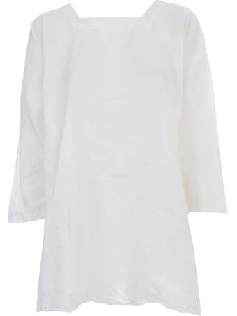 Daniela Gregis Washed Cotton Shirt L/s Cream