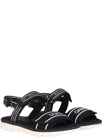 Dolce & Gabbana Black Sandals