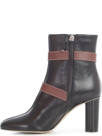 Rodo Ankle Boots Double Buckle