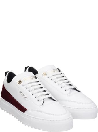 Mason Garments Torino  Sneakers In White Leather