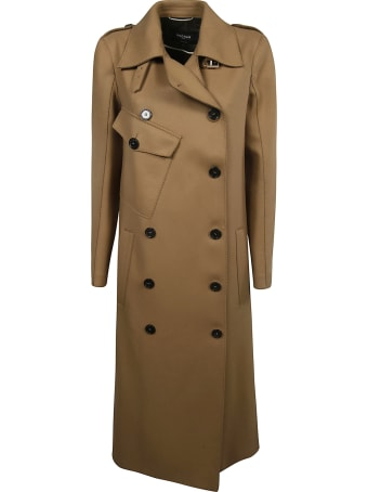 Rochas Double Breasted Trench