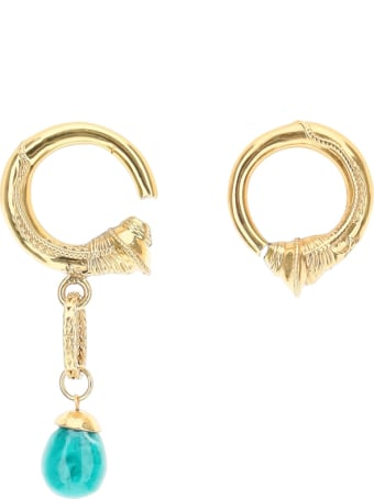 Patou Mismatching Hoop Earrings