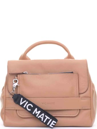 Vic Matié Vic Matié Uma Tan Satchel Bag