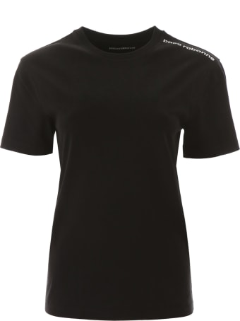 Paco Rabanne T-shirt With Logo On One Shoulder