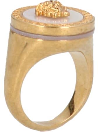 Versace 'chevalier' Ring
