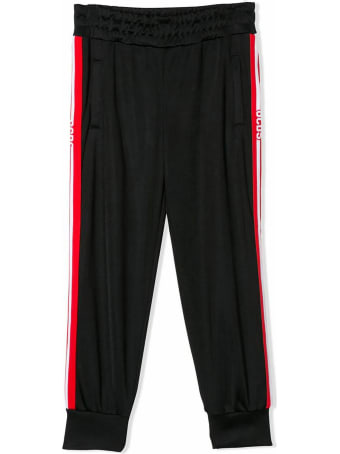 GCDS Black Tracksuit Trousers