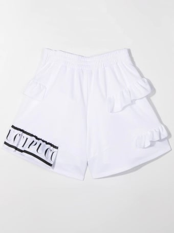 Emilio Pucci Stretch Shorts With Ruches