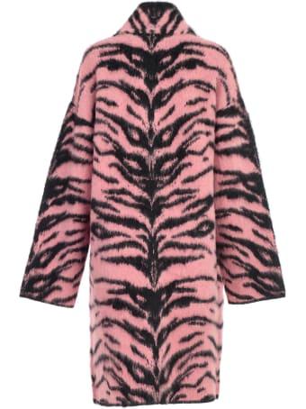 Laneus Coat Knit Tiger