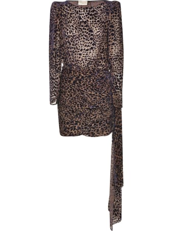 Giuseppe di Morabito Leopard Print Dress