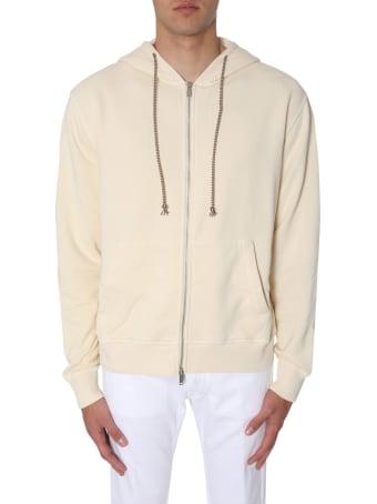 Golden Goose Adidas Zip-up Hood Sweatshirt