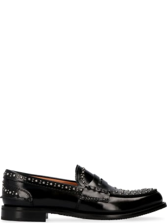 Church's Pembrey Studded Leather Loafers