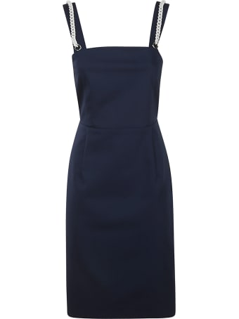 Be Blumarine Knot Strap Short Dress