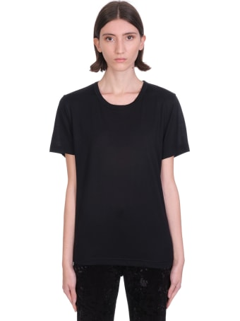 Acne Studios T-shirt In Black Cotton