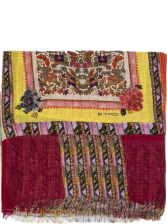 Etro Cashmere And Silk Scarf