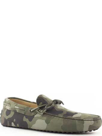 Tod's Camouflage Gommino Driving Shoes