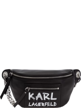 Karl Lagerfeld K/soho Graffiti Bum Bag