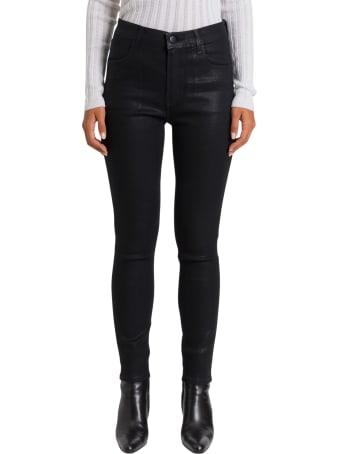 J Brand Alana Coated Jeans