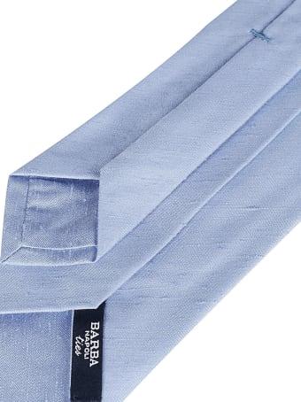 Barba Napoli Light Blue Silk Tie