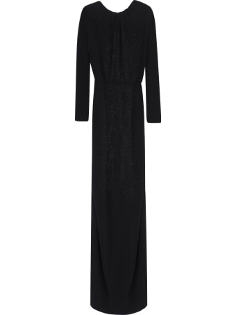 Dsquared2 Draped Jersey Gown