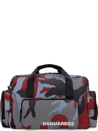 Dsquared2 Nylon Duffle Bag