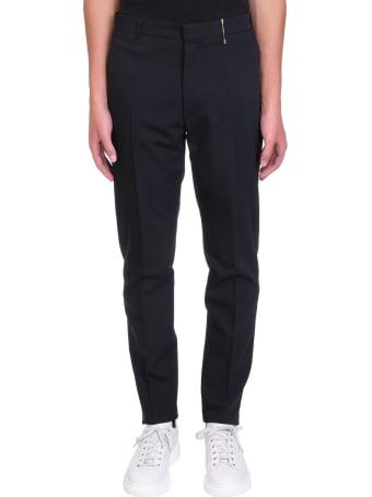 Rochas Romeo Pants In Black Wool