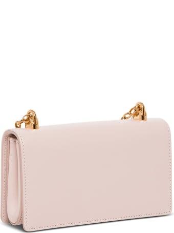 Dolce & Gabbana Dg Girls Crossbody Bag In Leather With Logo