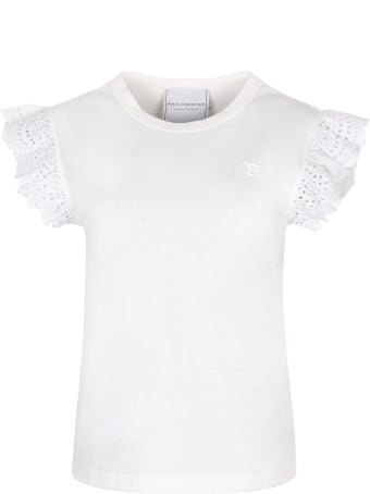 Philosophy di Lorenzo Serafini Crew-neck Cotton T-shirt