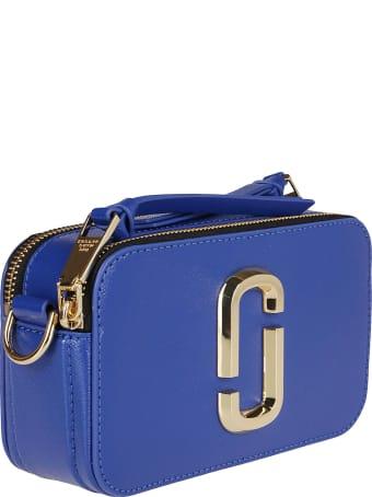 Marc Jacobs Blue Leather Snapshot Crossbody Bag