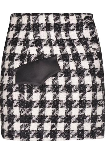 Giuseppe di Morabito Houndstooth Pattern Skirt