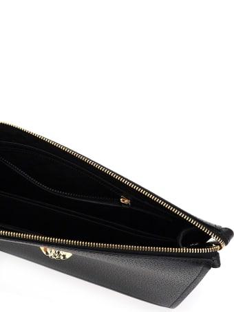 Versace Medusa Leather Pouch