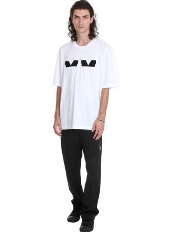 Maison Margiela Pants In Black Polyamide