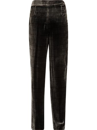 Emporio Armani Checked Trousers