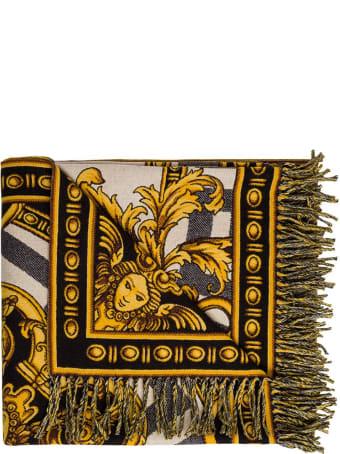 Versace La Coupe Des Dieux Wool Blanket